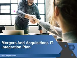 Mergers And Acquisitions It Integration Plan Powerpoint Presentation Slides
