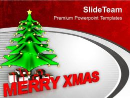 Merry Christmas Abstract PowerPoint Templates PPT Themes And Graphics 0113