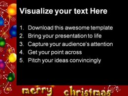 Merry Christmas Background PowerPoint Templates And PowerPoint Backgrounds 0511  Presentation Themes and Graphics Slide02