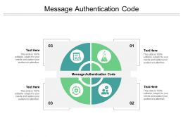 Message Authentication Code Ppt Powerpoint Presentation Gallery Summary Cpb