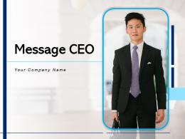 Message CEO Business Success Growth Employees Motivation