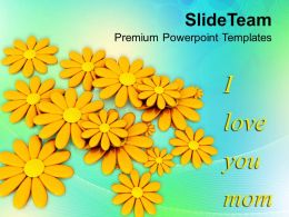 Message To Mom Happy Mothers Day PowerPoint Templates PPT Themes And Graphics 0513