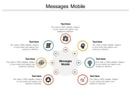 Messages Mobile Ppt Powerpoint Presentation Microsoft Cpb