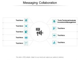 Messaging Collaboration Ppt Powerpoint Presentation Professional Ideas Cpb