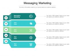 Messaging Marketing Ppt Powerpoint Presentation Summary Design Inspiration Cpb