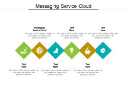 Messaging Service Cloud Ppt Powerpoint Presentation File Outfit Cpb