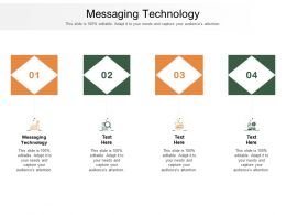 Messaging Technology Ppt Powerpoint Presentation Slides Themes Cpb