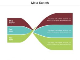 Meta Search Ppt Powerpoint Presentation Ideas Show Cpb