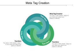 Meta Tag Creation Ppt Powerpoint Presentation Gallery Format Cpb