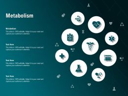 Metabolism Ppt Powerpoint Presentation Professional Maker