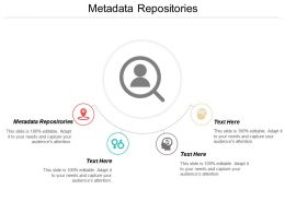 Metadata Repositories Ppt Powerpoint Presentation Diagram Graph Charts Cpb