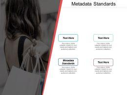 Metadata Standards Ppt Powerpoint Presentation Diagram Images Cpb