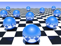 metal_spheres_of_blue_color_on_a_chessboard_stock_photo_Slide01