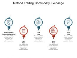 Method Trading Commodity Exchange Ppt Powerpoint Presentation Slides Format Ideas Cpb