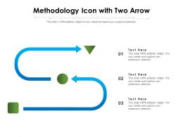 Methodology Icon With Two Arrow