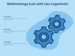 Methodology Icon With Two Cogwheels