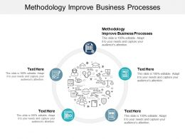 Methodology Improve Business Processes Ppt Powerpoint Presentation Professional Cpb