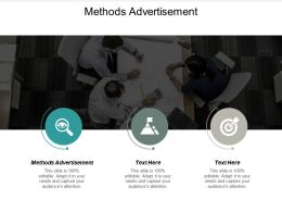 Methods Advertisement Ppt Powerpoint Presentation Gallery Background Cpb