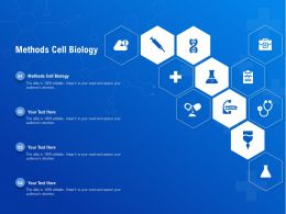 Methods Cell Biology Ppt Powerpoint Presentation Outline Graphics Template