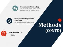 Methods Contd Ppt Slides Designs Download