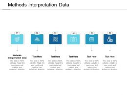 Methods Interpretation Data Ppt Powerpoint Presentation Ideas Guide Cpb