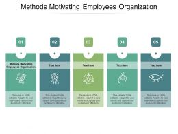 Methods Motivating Employees Organization Ppt Powerpoint Presentation Gallery Introduction Cpb