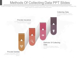 Methods Of Collecting Data Ppt Slides