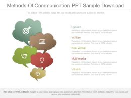 Methods Of Communication Ppt Sample Download