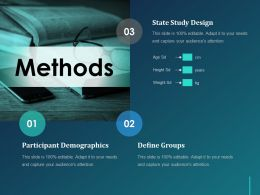 Methods Ppt Layout