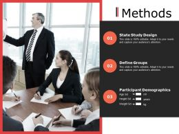 Methods Ppt Powerpoint Presentation File Diagrams