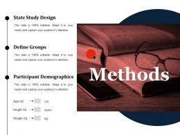 Methods Ppt Slides Examples