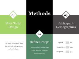 Methods Ppt Summary Vector