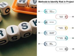 Methods To Identify Risk In Project