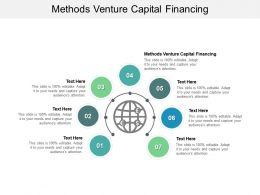 Methods Venture Capital Financing Ppt Powerpoint Presentation Model Tips Cpb