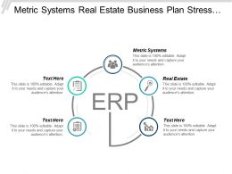 Metric Systems Real Estate Business Plan Stress Relief Services Cpb