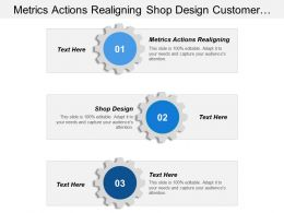 Metrics Actions Realigning Shop Design Customer Experience Trends