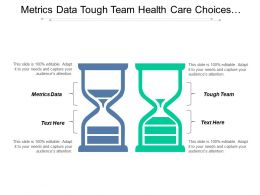 Metrics Data Tough Team Health Care Choices Types Projects Cpb