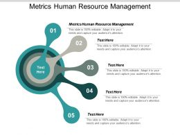 Metrics Human Resource Management Ppt Powerpoint Presentation Inspiration Example Cpb