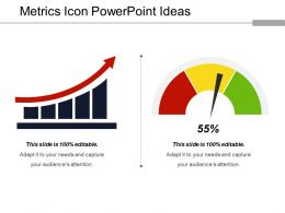 Metrics Icon Powerpoint Ideas