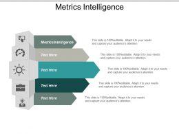 Metrics Intelligence Ppt Powerpoint Presentation Gallery Show Cpb