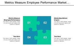Metrics Measure Employee Performance Market Equilibrium Graphs Market Segmentation Cpb