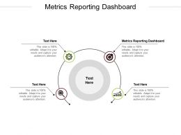 Metrics Reporting Dashboard Ppt Powerpoint Presentation Icon Portfolio Cpb