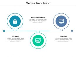 Metrics Reputation Ppt Powerpoint Presentation Designs Cpb