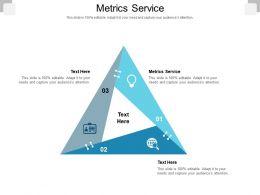 Metrics Service Ppt Powerpoint Presentation Portfolio Graphics Cpb
