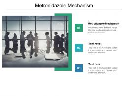 Metronidazole Mechanism Ppt Powerpoint Presentation Show Structure Cpb