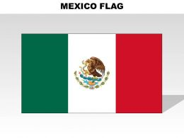 Mexico Country Powerpoint Flag