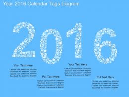 mf Year 2016 Calendar Tags Diagram Flat Powerpoint Design