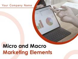 Micro And Macro Marketing Elements Powerpoint Presentation Slides