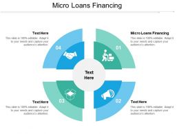 Micro Loans Financing Ppt Powerpoint Presentation Ideas Designs Download Cpb