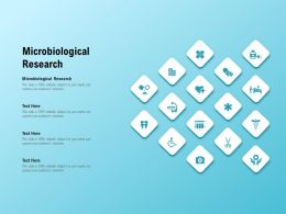 Microbiological Research Ppt Powerpoint Presentation Layouts Diagrams